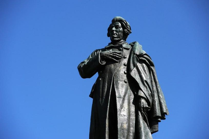 Zdj. iustracyjne; Na. zdj. Pomnik Adama Mickiewicza w Warszawie /Wojciech Strozyk/ /Reporter