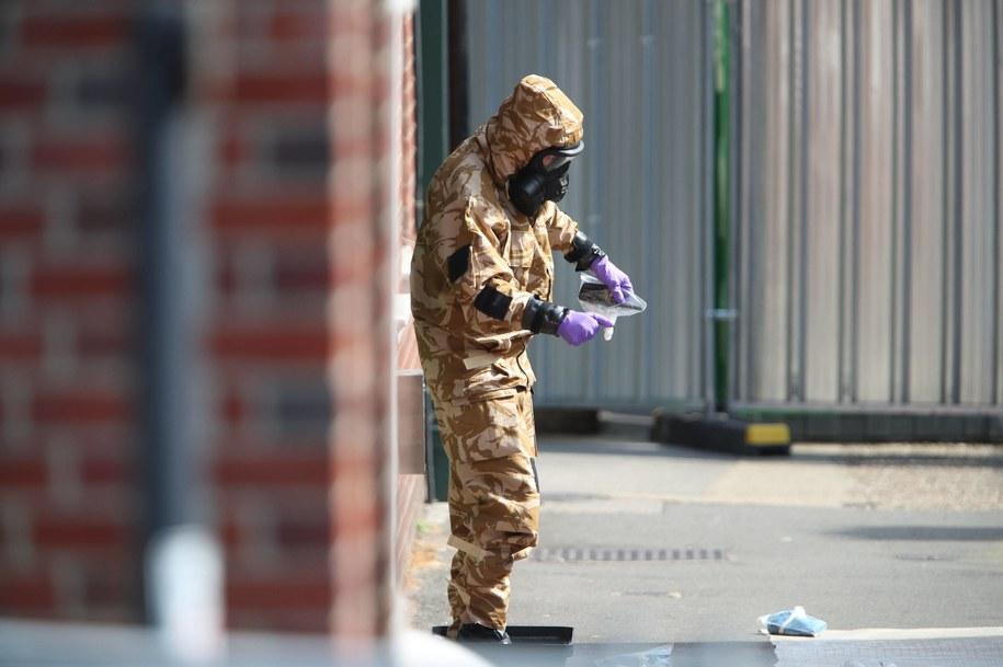 Zdj. po zamachu w brytyjskim Salisbury /YUI MOK /PAP/PA