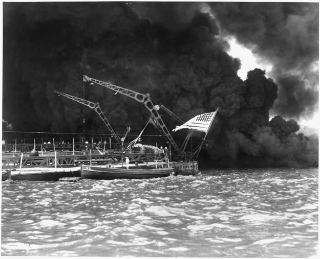 Zdj. z ataku na Pearl Harbor /nsf / Alamy /PAP/EPA