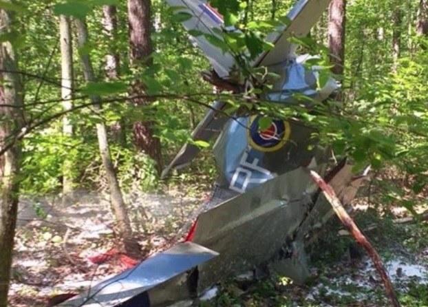 Zdj. z miejsca tragicznego wypadku /Gorąca Linia RMF FM