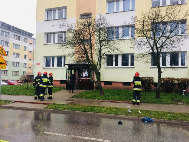 Zdj. z miejsca zdarzenia /Agnieszka  Wyderka /RMF FM