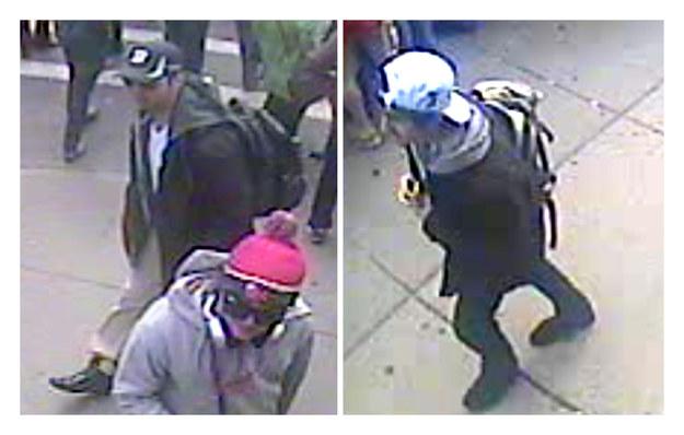 Zdjęcia braci Carnajewów opublikowane przez FBI /AFP