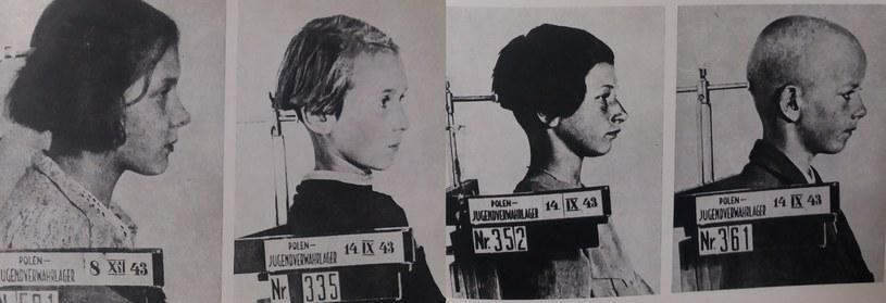 """Zdjęcia dzieci z książki """"Czas niewoli, czas śmierci"""" (wyd. 1979) /"""