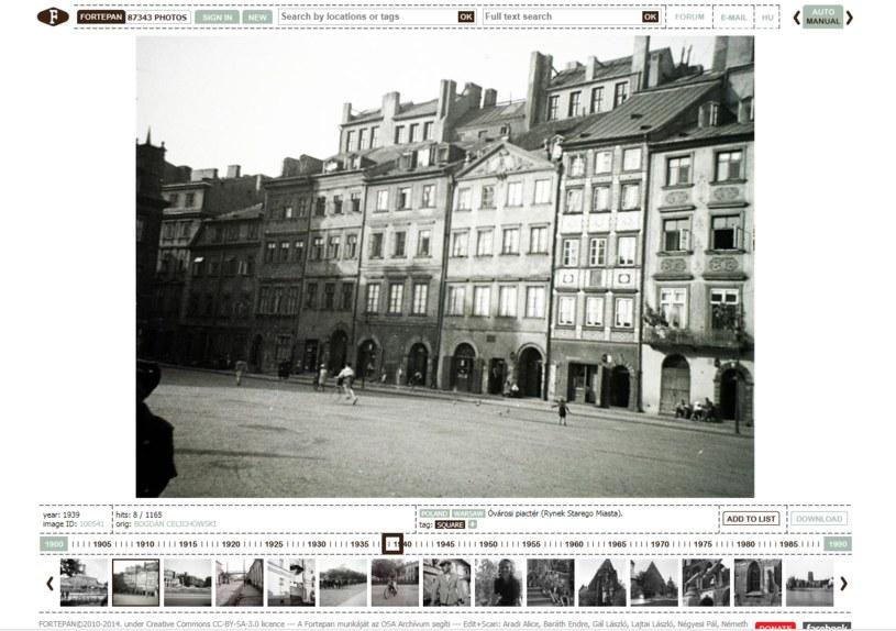 Zdjęcia fotografującego amatorsko architekta Bogdana Celichowskiego zamieścił węgierski portal /http://www.fortepan.hu /