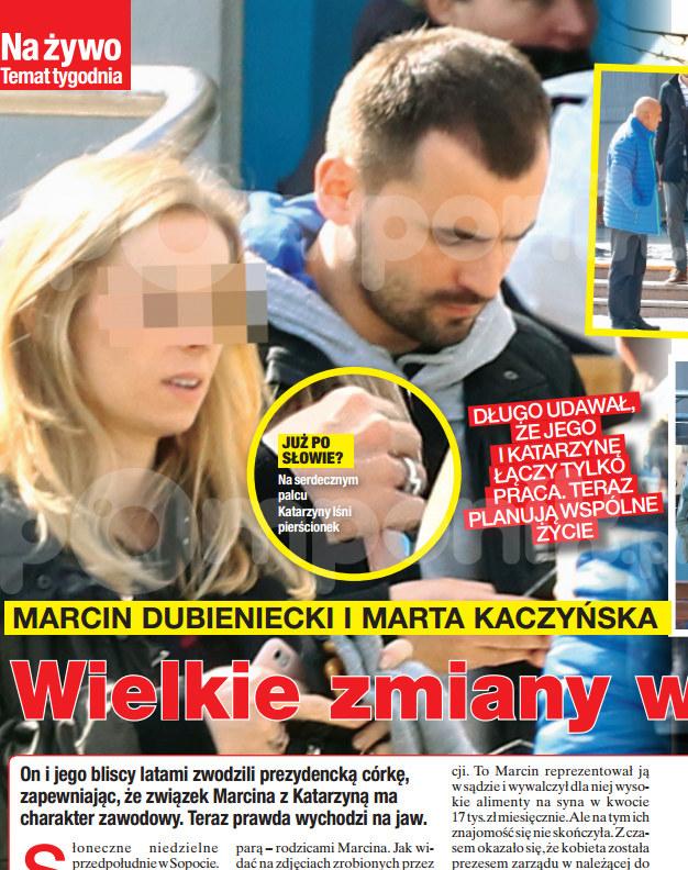 """Zdjęcia i rewelacje z życia Marcina Dubienieckiego opublikował tygodnik """"Na Żywo"""" /Na żywo"""