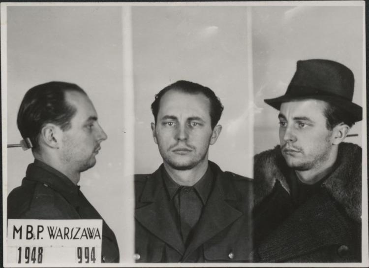 """Zdjęcia Jana Rodowicza """"Anody"""" wykonane przez Ministerstwo Bezpieczeństwa Publicznego w 1948 roku /IPN"""
