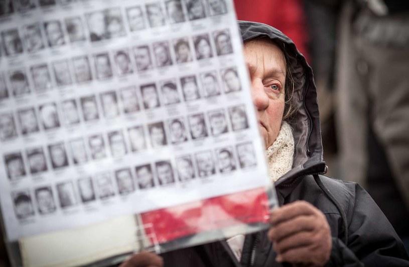 Zdjęcia ofiar katastrofy /AFP