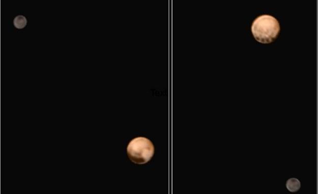 Zdjęcia Plutona wykonane przez sondę New Horizons /NASA