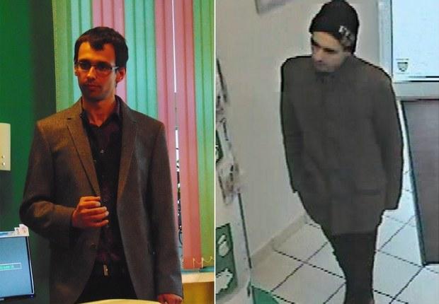 Zdjęcia poszukiwanego Kajetana P., opublikowane przez policję /www.policja.waw.pl /Policja