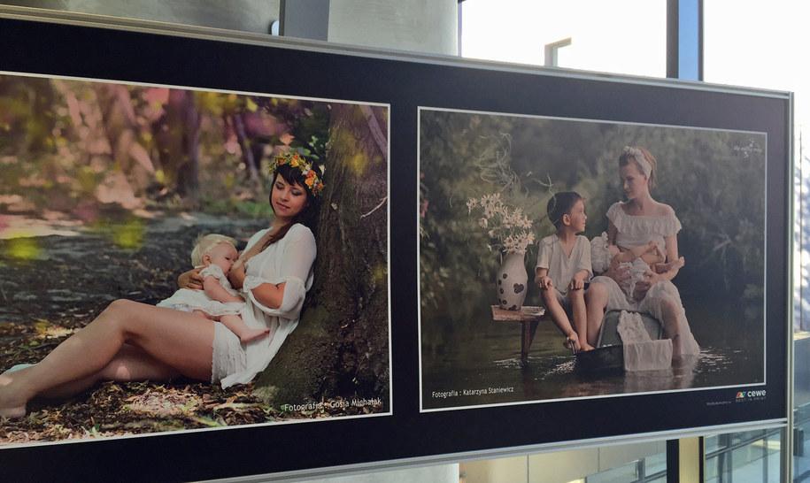 Zdjęcia prezentowane na wystawie /Kuba Kaługa, RMF FM /RMF FM