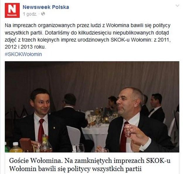 "Zdjęcia publikuje ""Newsweek"" /fot. Facebook /"