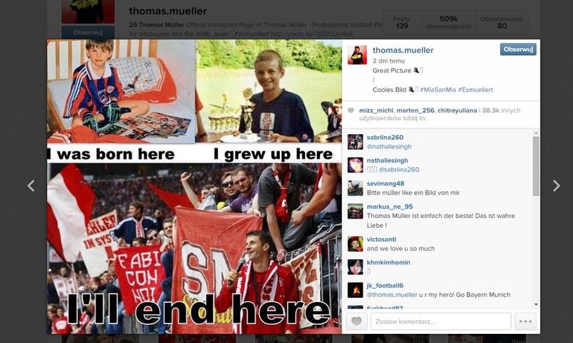 Zdjęcia Thomasa Muellera / Instagram /Internet