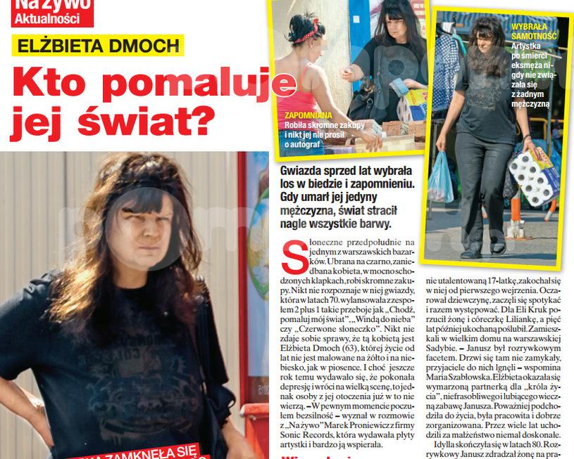 """Zdjęcia w """"Na Żywo"""" wzbudziły sensację! To do tej pory najnowsze zdjęcia Dmoch /Na żywo"""