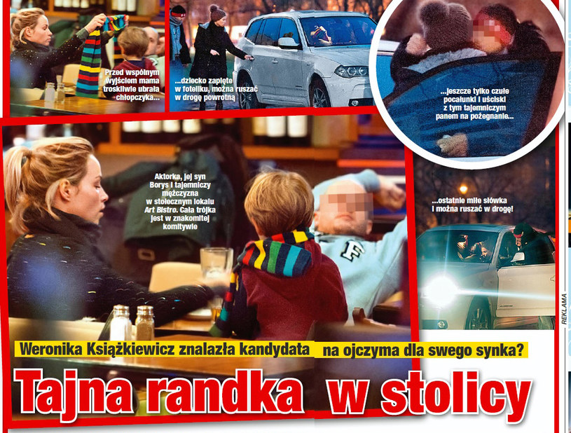 """Zdjęcia Weroniki Książkiewicz i jej nowego towarzysza opublikował tygodnik """"Twoje Imperium"""" /Twoje Imperium"""