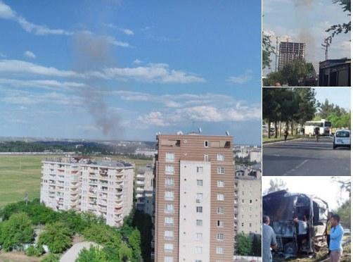 Zdjęcia z miasta, gdzie doszło do wybuchu, które pojawiły się na Twitterze /Twitter