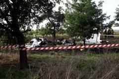 Zdjęcia z miejsca katastrofy