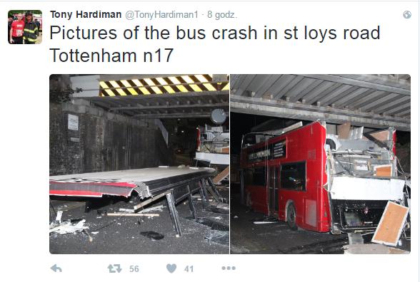 Zdjęcia z miejsca wypadku /Twitter
