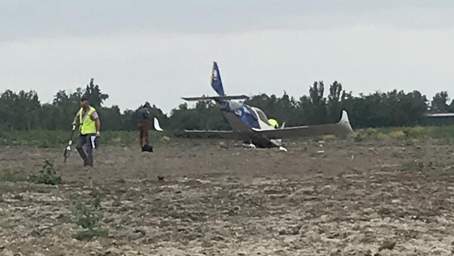 Zdjęcia z miejsca wypadku /Marcin Buczek /RMF FM