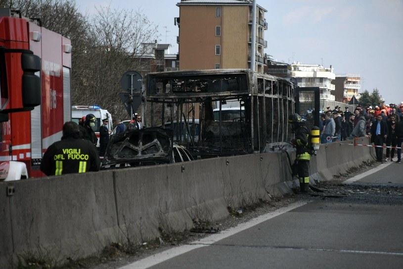 Zdjęcia z miejsca zdarzenia /Daniele Bennati/ANSA via AP /East News