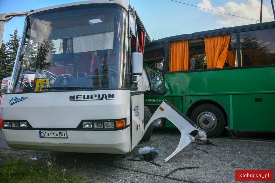 Zdjęcia z miejscu wypadku /Klobucka.pl /