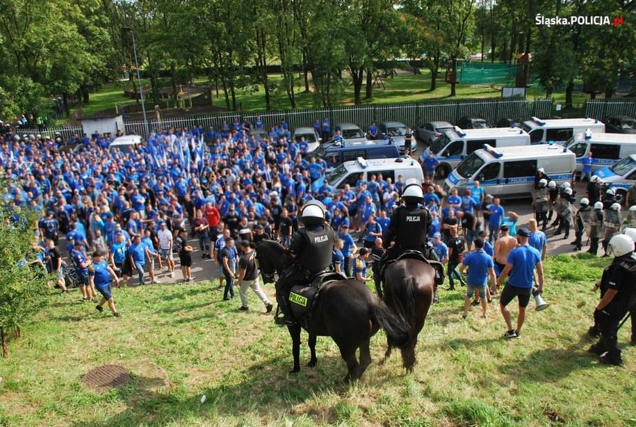 Zdjęcia z policyjnej akcji /Policja