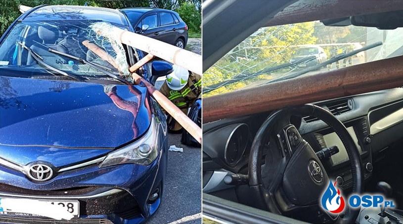 Zdjęcia z wypadku nad zalewem Klimkówka /OSP Ropa /facebook.com