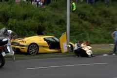 Zdjęcia z wypadku w Poznaniu: