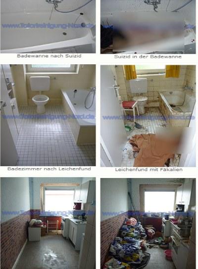 Zdjęcia ze strony firmowej Plähna - po lewej mieszkania już po sprzątaniu. Fragmenty zdjęć po prawej zostały rozmazane przez redakcję /materiały prasowe