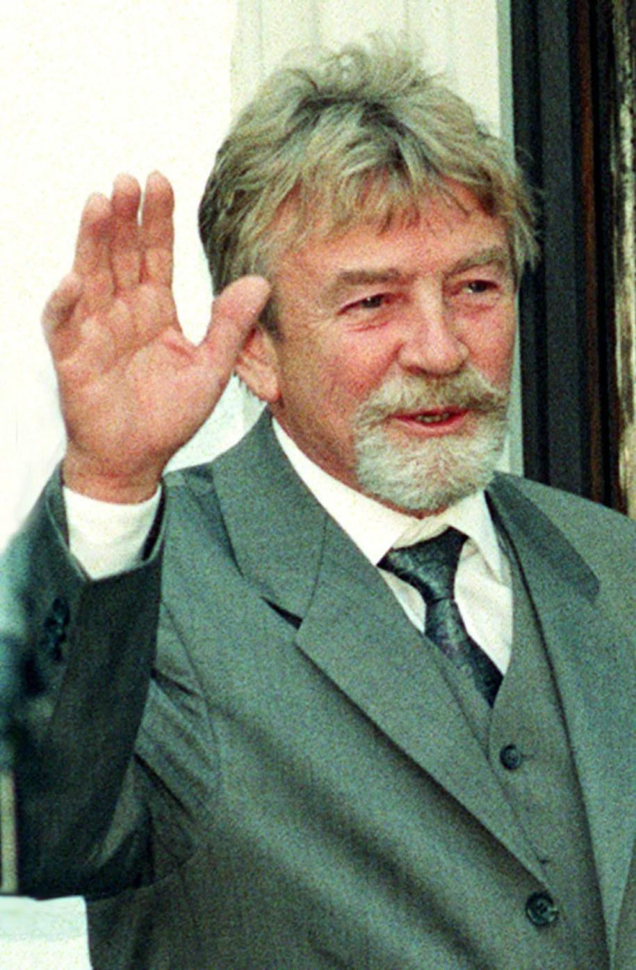 Zdjęcie archiwalne. 27.04.1998 Warszawa Płk Ryszard Kuklinski /Radek Pietruszka /PAP