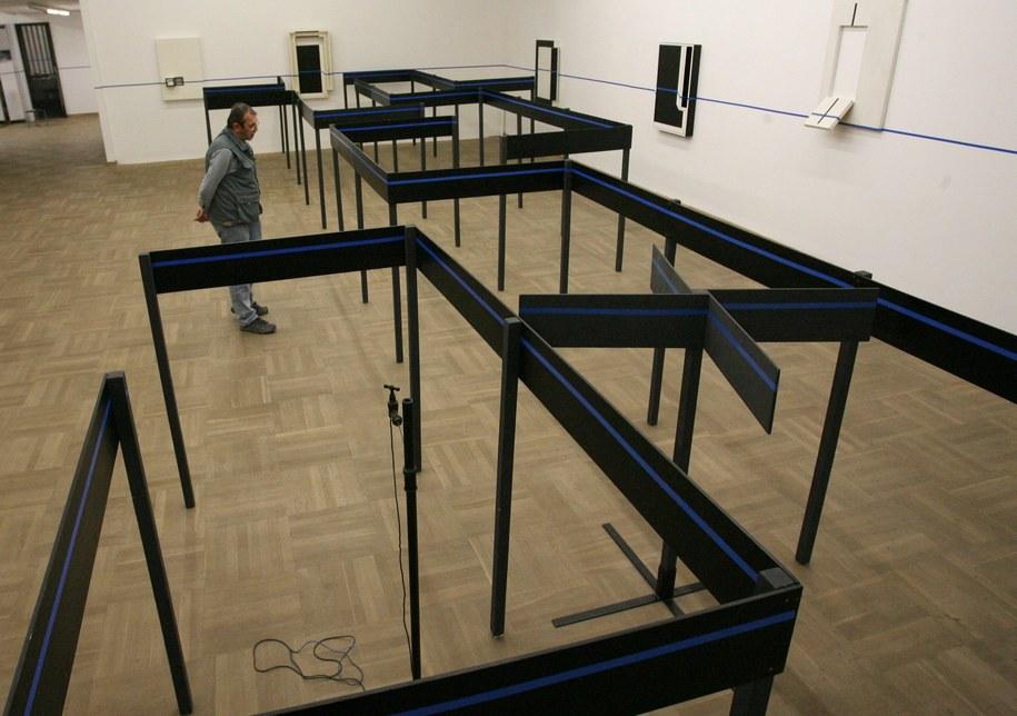 """Zdjęcie archiwalne. Wystawa """"Depresja"""" w Bunkrze Sztuki /Jacek Bednarczyk   /PAP"""