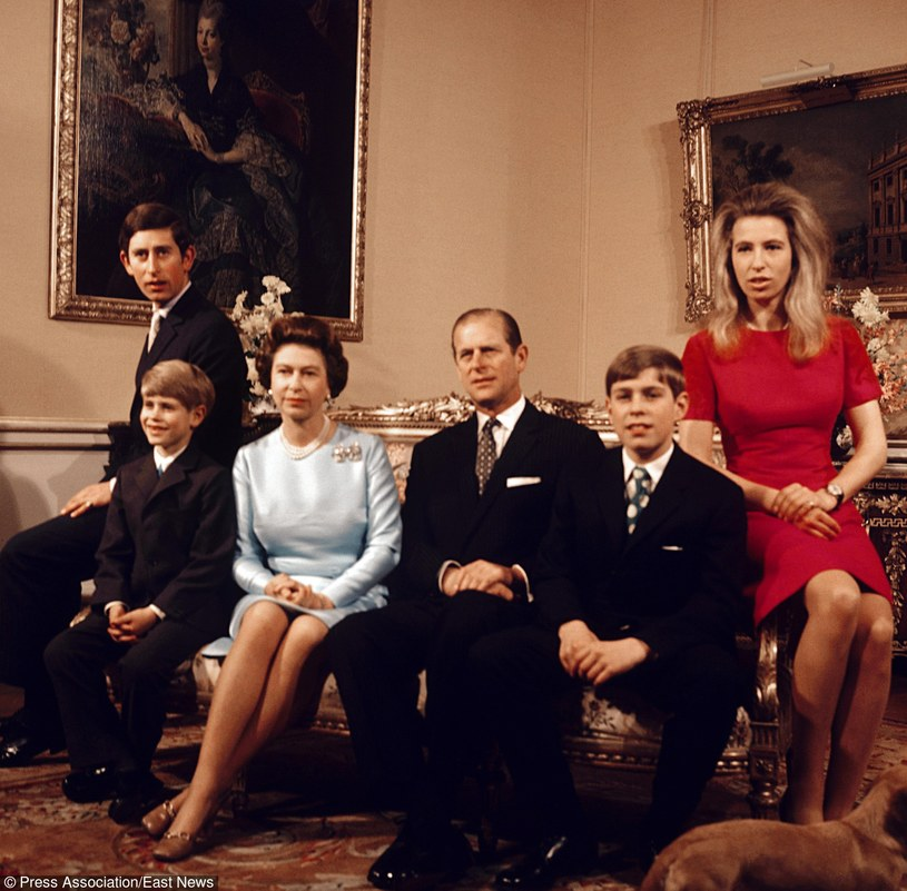 Zdjęcie archiwalne z 1972 roku. Rodzina królewska /PA /East News