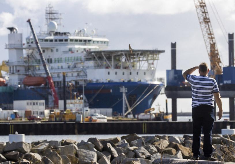 Zdjęcie archiwalne z budowy Nord Stream 2 /ODD ANDERSEN / AFP /AFP
