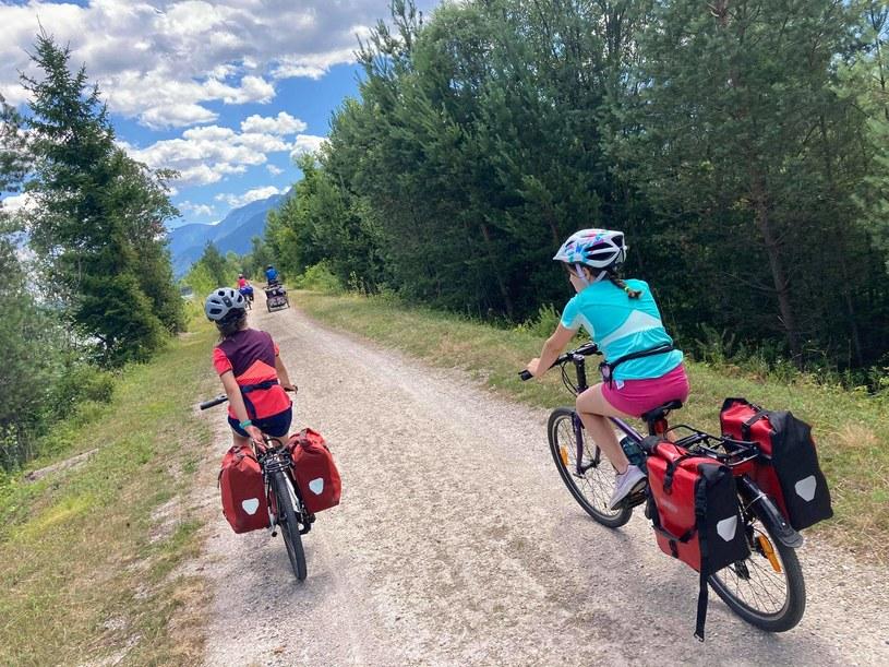 Zdjęcie autorstwa Katarzyny Gędek-Tyrcz zrobione podczas wyjazdu rowerowego do Karyntii na Drauradweg w Austrii /dzieciakiwplecaki.pl /archiwum prywatne