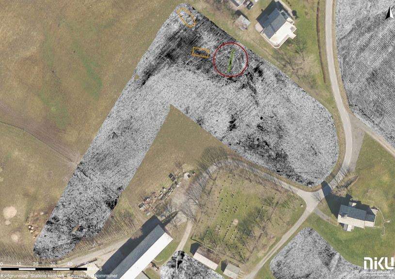 Zdjęcie farmy, na której znaleziono statek Fot. Manuel Gabler, NIKU /materiały prasowe