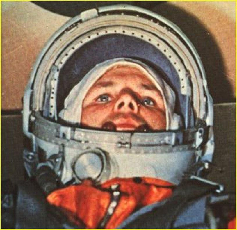 """Zdjęcie Gagarina na pokładzie """"Wostok 1"""" /AFP"""
