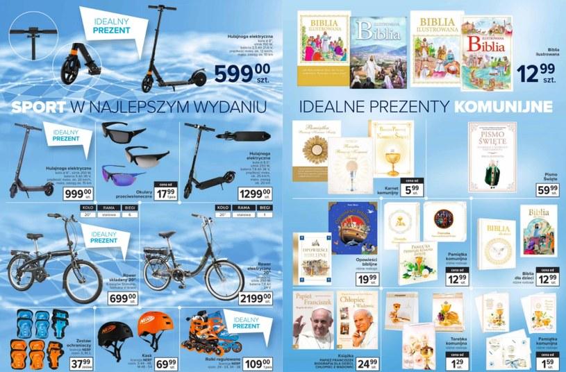 Zdjęcie gazetki promocyjnej Carrefour na stronie Ding.pl /ding.pl