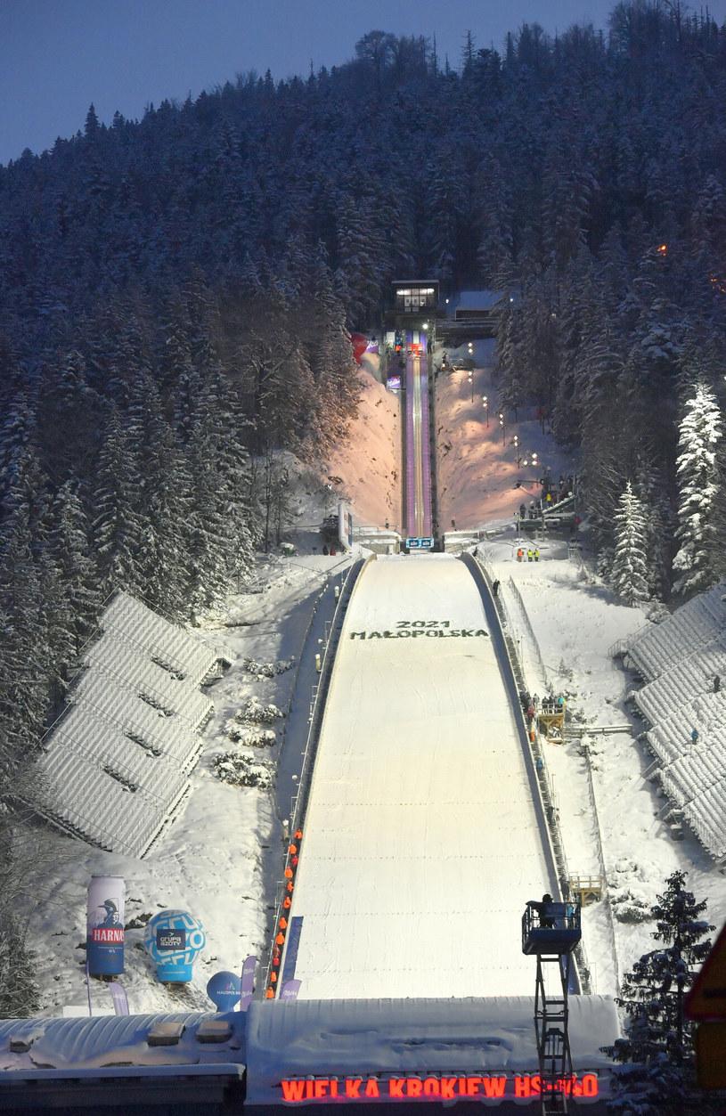 Zdjęcie ilustracyjne, a na nim Wielka Krokiew w Zakopanem /pawel murzyn /East News