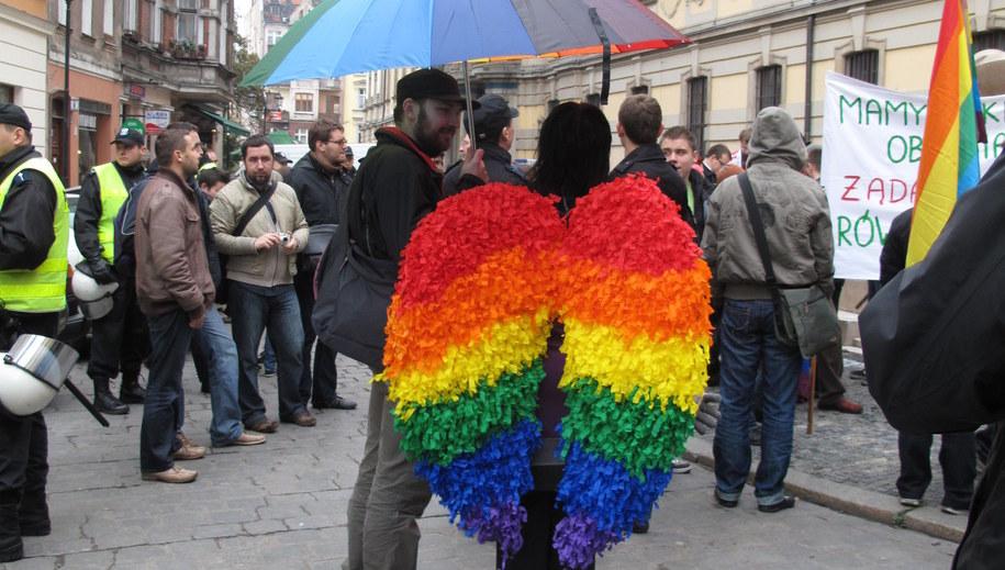 Zdjęcie ilustracyjne. Parada równości /RMF FM /RMF FM