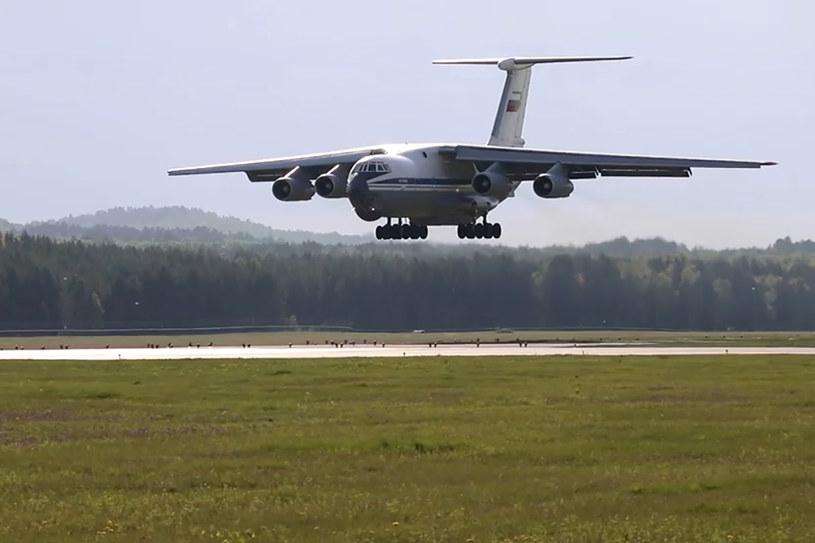 Zdjęcie ilustracyjne/Samolot transportowy Ił-76 /Russian Defence Ministry Press Office/TASS /Agencja FORUM