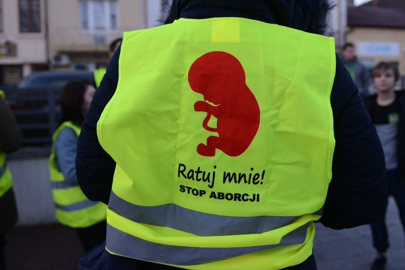 Zdjęcie ilustracyjne z manifestacji antyaborcyjnej /Adam Staśkiewicz /East News
