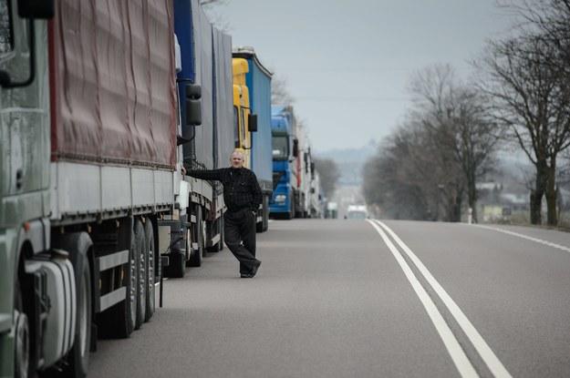 Ciężarówki z Polski utknęły na bułgarskiej granicy
