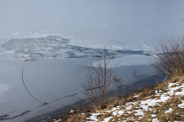 Załamał się pod nimi lód. Jedna osoba nie żyje, druga walczy o życie