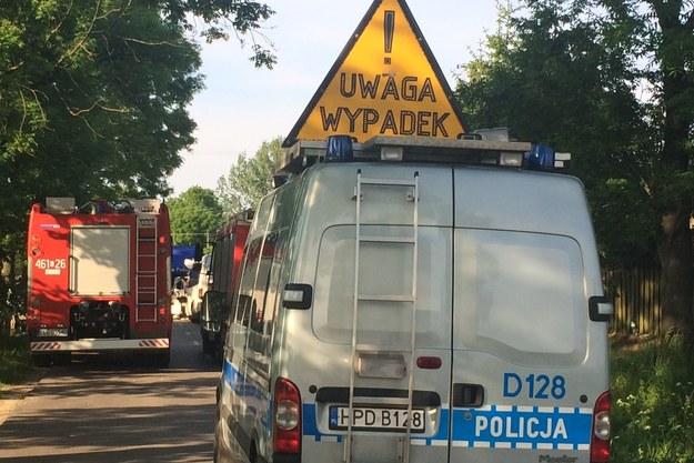 Dolny Śląsk: 9 osób rannych po czołowym zderzeniu dwóch osobówek