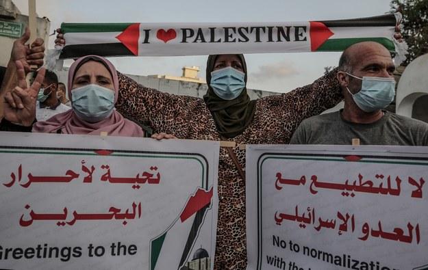 Arabia Saudyjska wspiera Palestyńczyków