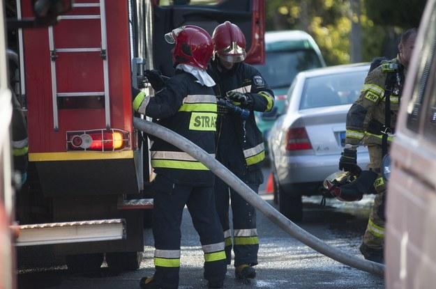 Świętokrzyskie: Wybuch butli z gazem. Jedna osoba ranna
