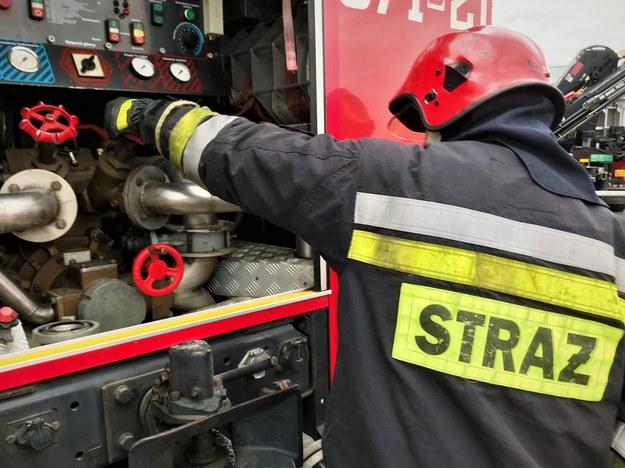 Wypadek na terenie zakładu produkcyjnego PKN Orlen. Dwie osoby w szpitalu