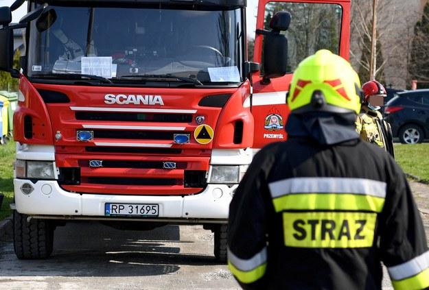 Próba podpalania komendy w Inowrocławiu
