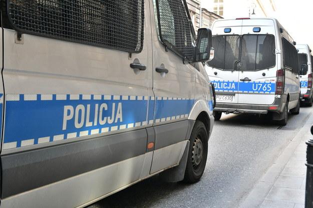 Napad na placówkę bankową w Błoniu. Padł strzał