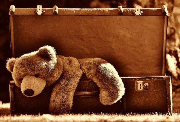 Makabryczne odkrycie: Szczątki noworodka w walizce w piwnicy