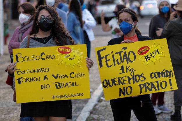 Chleba, szczepionek, edukacji! Na ulicach Brazylii wielotysięczne manifestacje